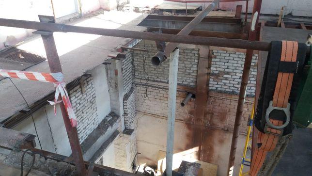 Ч. П. Демонтаж и монтаж металоконструкций строительные работы.