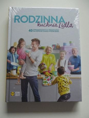 Książka Rodzina kuchnia Lidla