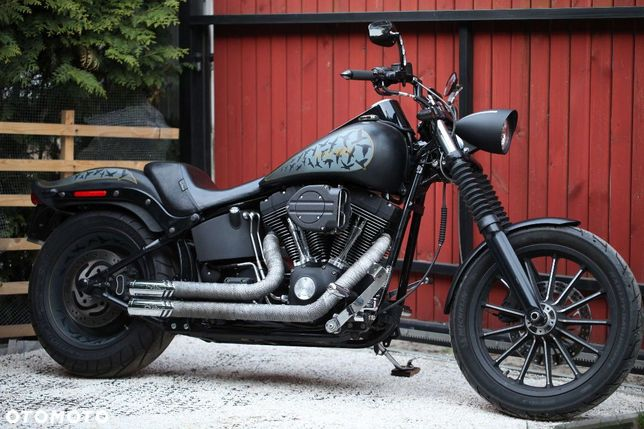 Harley-Davidson Softail Harley Davidson Nigt Train Black Bird