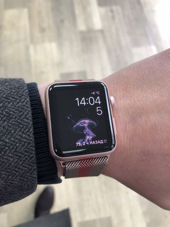 Apple watch 7000 series 42mm rose к 8 марту