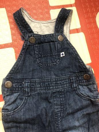 Полубомбез джинсовый miniclub 3 месяца
