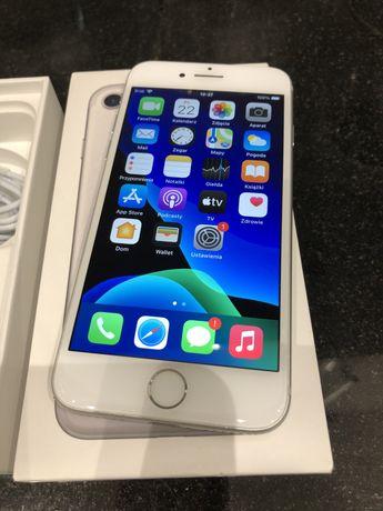 Iphone 7 32GB Silver, nowa bateria, calkowicie sprawny