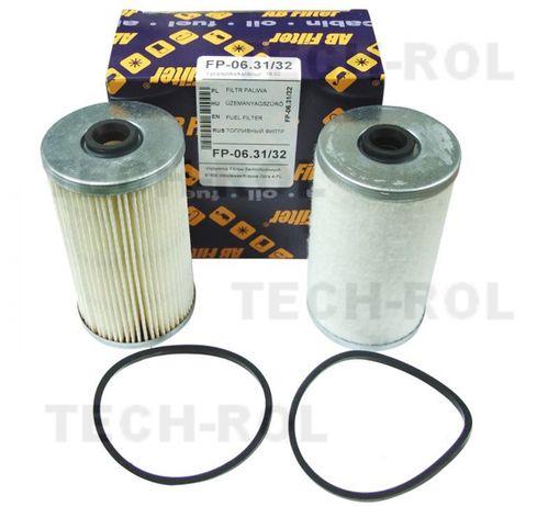 Komplet wkładów filtra paliwa do Ursus C-330, C-360, C-385 filtr