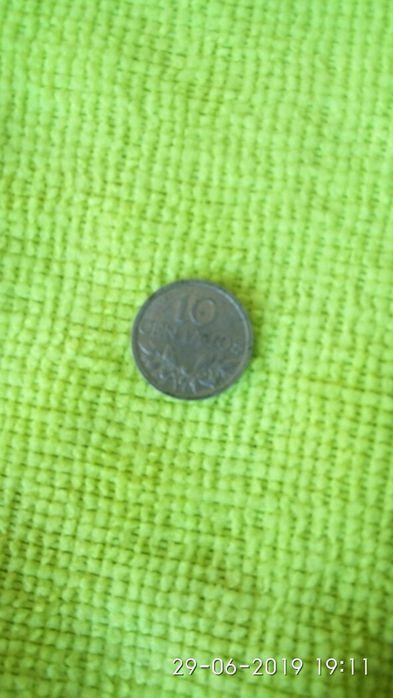 Vendo moeda 10 centavos de 1970 Silvares, Pias, Nogueira E Alvarenga - imagem 1