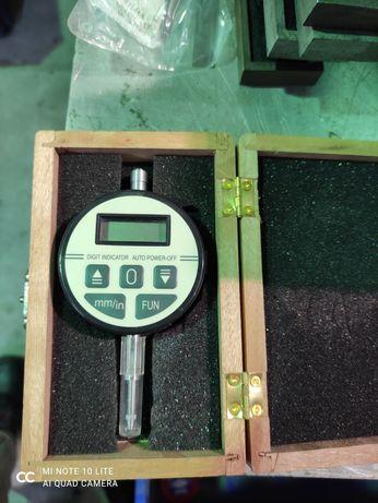 Czujnik zegarowy elektroniczny 0.01 10mm Cyfrowy