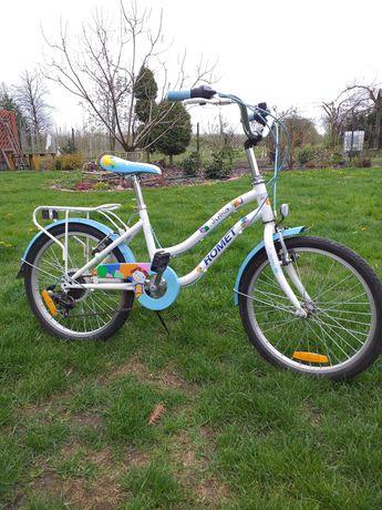 Rower dla dziewczynki 5-9 lat Julka