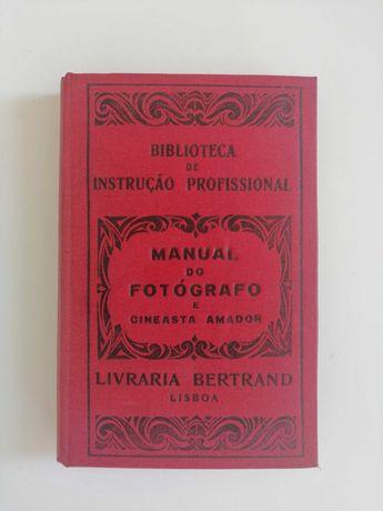 Livro Manual do fotógrafo e cineasta amador