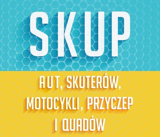 Skup Skuterów, Motocykli, Quadów, Aut, Przyczep - Warszawa i okolice