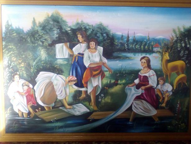 Картина-репродукція К. Трутовського із рамою. Масляні фарби.