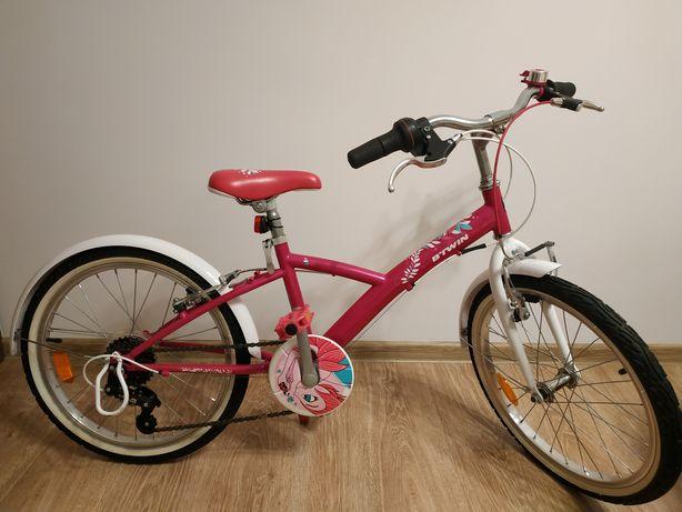 Rower dla dziewczynki Btwin 20 cali