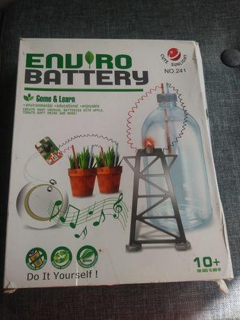 Eko bateria 4M ekologiczny zestaw naukowca NOWY