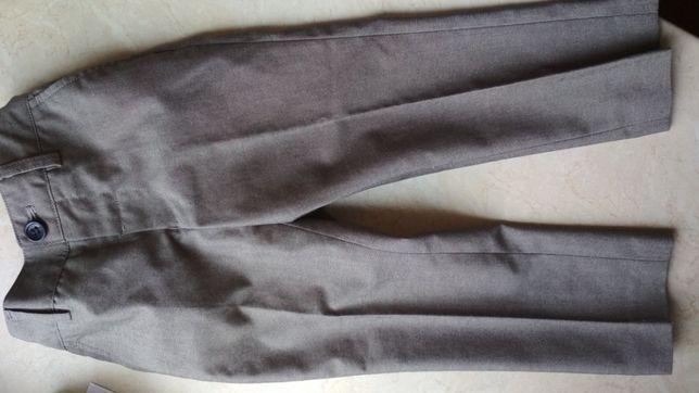 Spodnie eleganckie, garniturowe r. 98