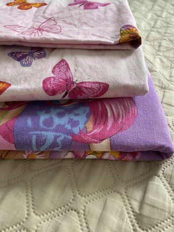 Продам 2 детских комплекта постельного белья для девочки