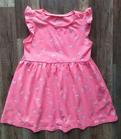H&M - śliczna sukienka dziewczęca rozm. 98/104