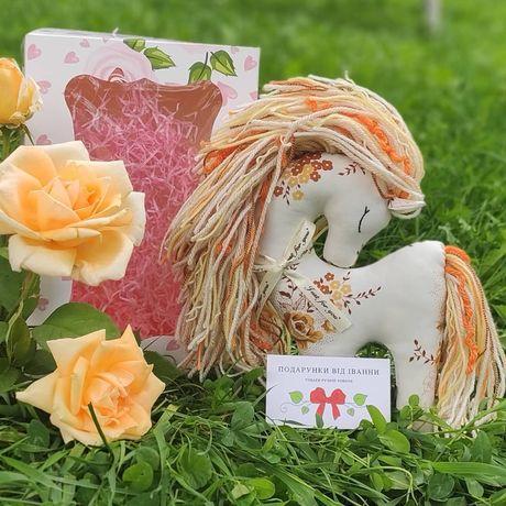 Іграшки ручної роботи кінь лошадка Хендмейд игрушка для детей