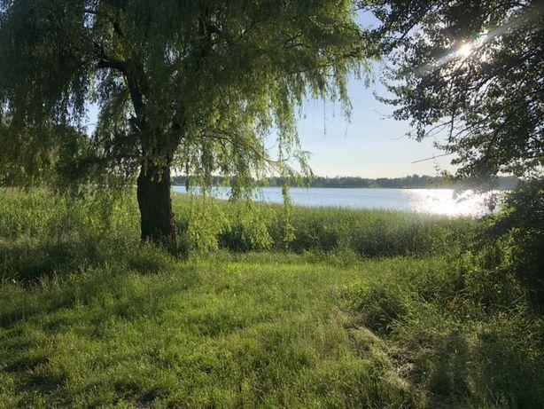 Продаємо 3 земельні ділянки на березі водосховища.