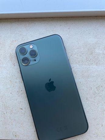 Iphone 11 pro 64gb desbloqueado verde meia noite