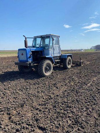 Трактор саморобний + плуги + культиватор