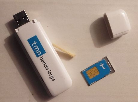 PEN internet móvel MEO / UNITEL