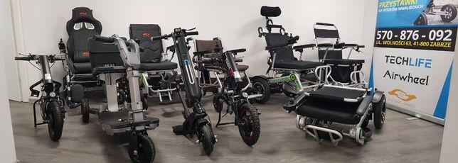 Dostawki elektryczne do wózków inwalidzkich Pfron Śląsk Zabrze