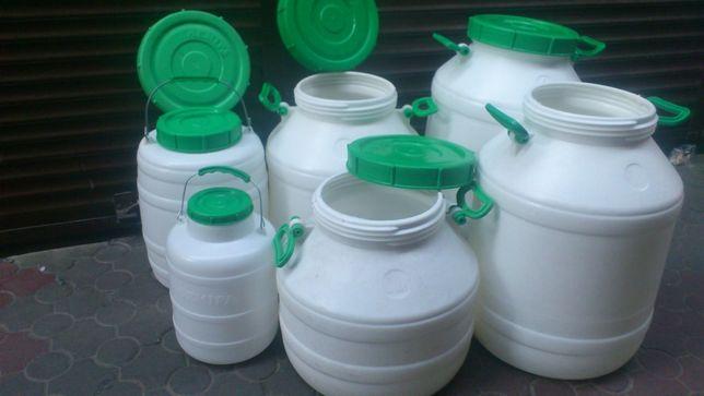 Набор пластмассовых, пищевых бочек Лемира
