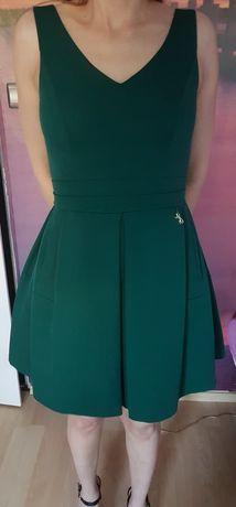 Sukienka zielona elegancka