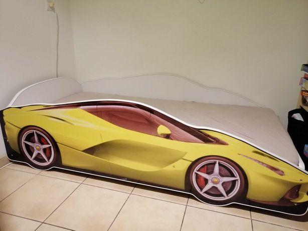 Łóżko samochód 160x80 cm dla chłopca lub dziewczynki