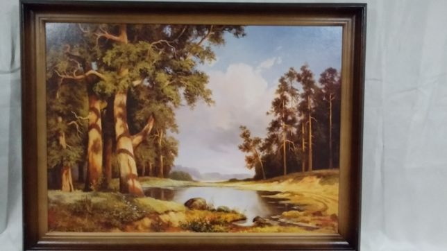 Картина репродукция 70х 50 см.