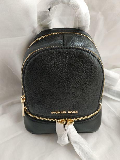 Plecak Michael Kors Rhea Zip XS Black Leather