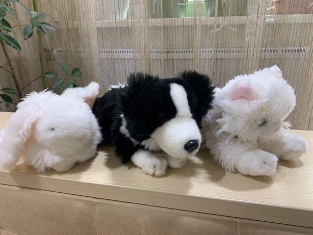 Мягкая игрушка кот котик , собака щенок 24см, кролик 17см Keel Toys