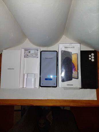 Vendo Samsung A72 5g preto Irrepreensível