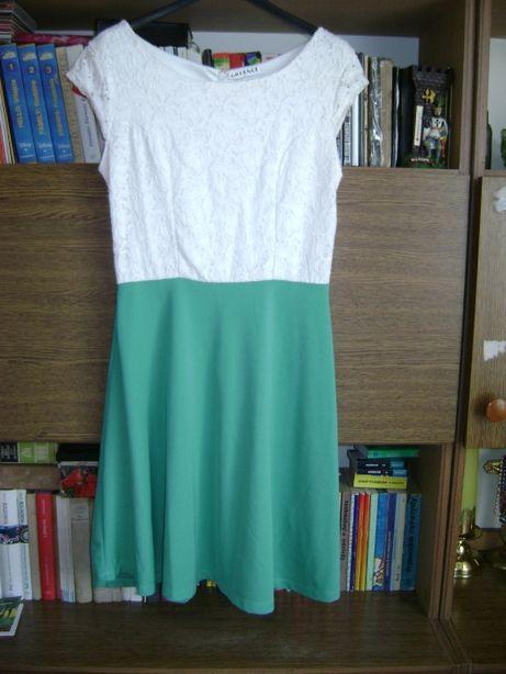 Sukienka turkusowa L