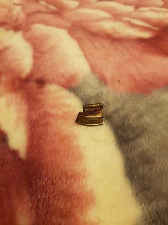 Ferro de Engomar Miniatura em Cobre