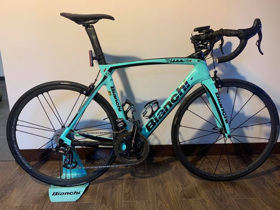 rower Bianchi Oltre XR4 Campagnolo 11 Super Record EPS rama 57