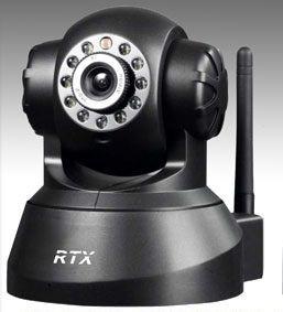 NOWA Bezprzewodowa Kamera IP HD Monitoring, Wi-Fi, obrotowa, niania
