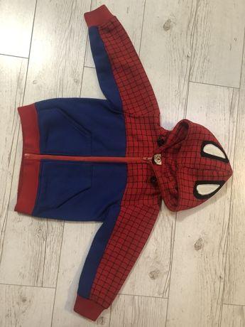 Ocieplana bluza Spider Man r 104 3-4 lat
