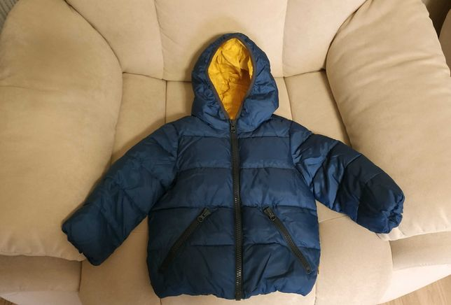 Продам детскую демисезонную куртку на мальчика Benetton, 18-24 М
