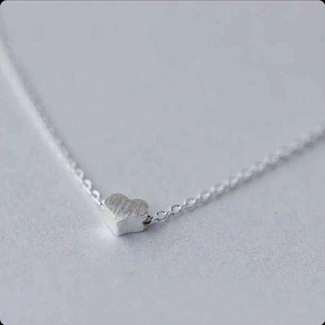 Колье «Сердце», серебро 925 проба