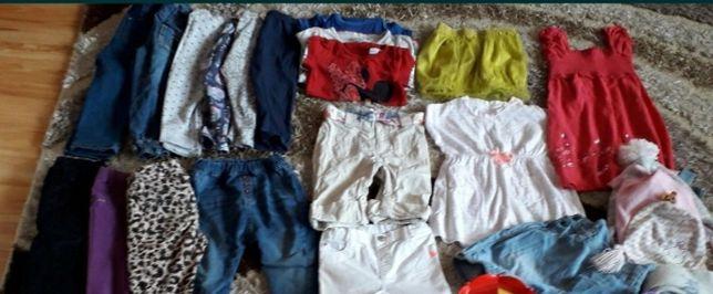 Ubrania rozmiar 86- 104