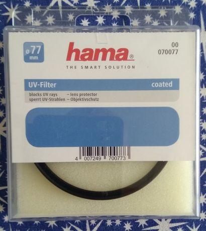 Filtr UV M77 Hama