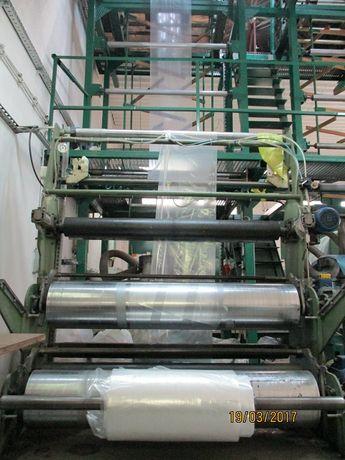 Wytłaczarka do produkcji folii folia linia produkcyjna