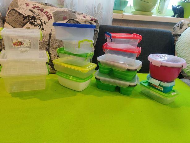 боксы коробочки, пластиковые ёмкости, лоточки