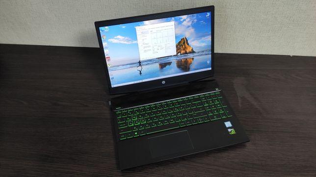 Мощный игровой HP Gaming i5 8300HQ, GTX 1050, FullHD, SSD