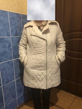 Куртка пальто осень весна демисезонная 48-50
