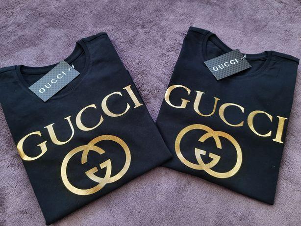 Koszulki Damskie Męskie t-shirty logo Gucci