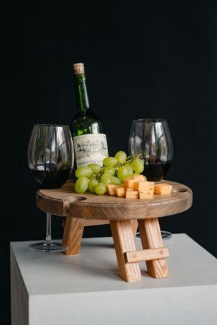 Винный столик из ясеня, Столик из дерева