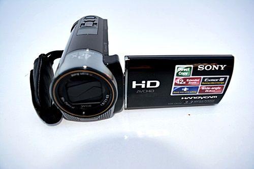 Kamera cyfrowa Sony HDR-CX130 E Czarna