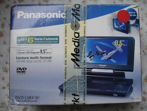 pudełko opakowanie instrukcja do przenośne dvd panasonic dvd-ls83