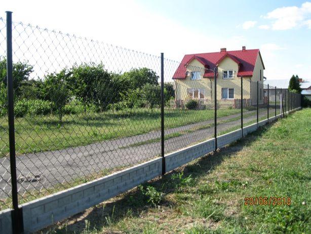 Kompleksowy montaż ogrodzeń .Siatka, Panel.