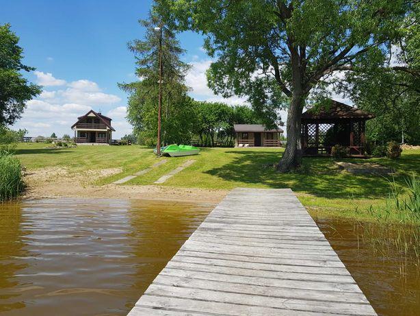 Domki letniskowe nad jeziorem do wynajęcia okolice Augustowa